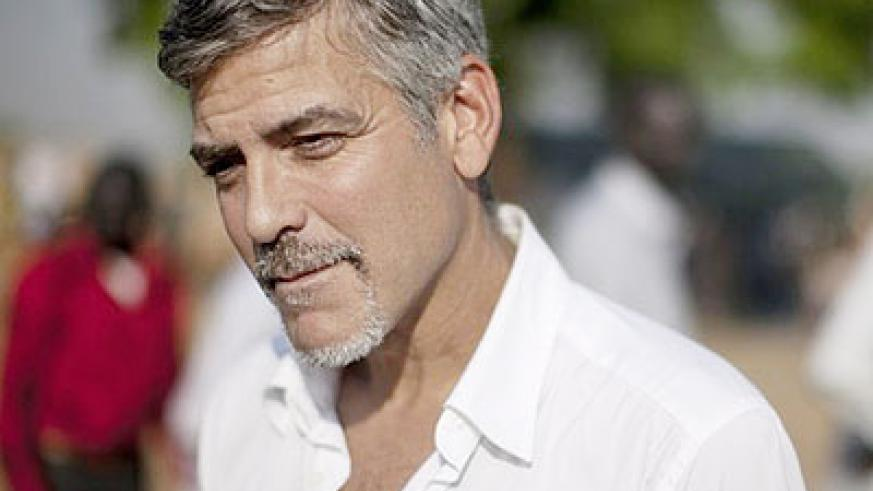 George Clooney is a key activist for Darfur. Net photo.