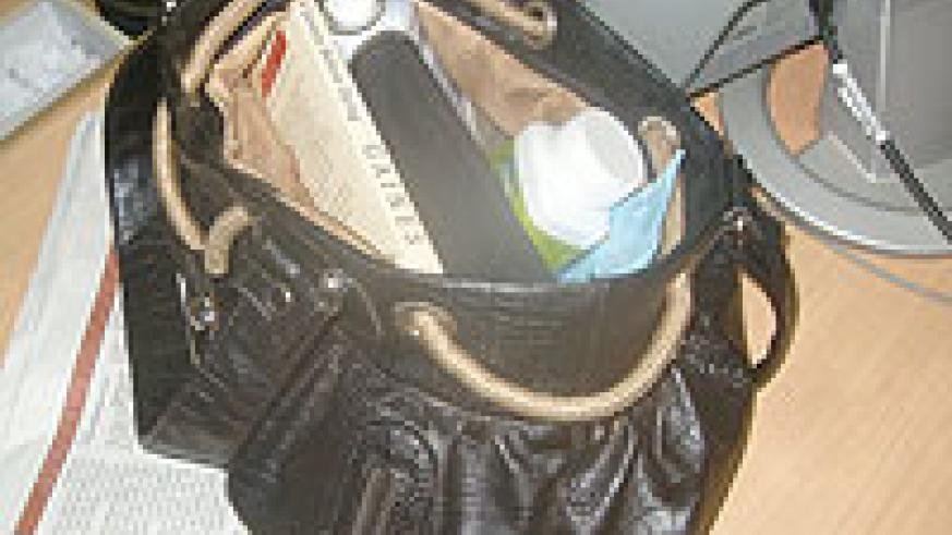 Make sure that you have everything you need in your handbag