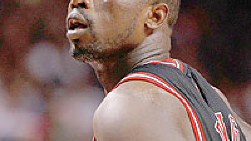 Luol Deng of the Chicago Bulls looks on during a game. Net photo