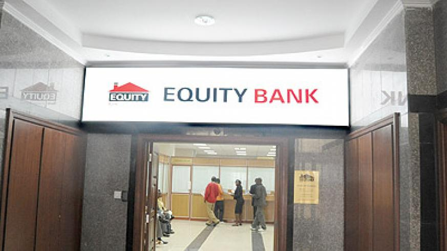 Equity Bank Rwanda's entry has stirred competition in the sector . The New Times / File.
