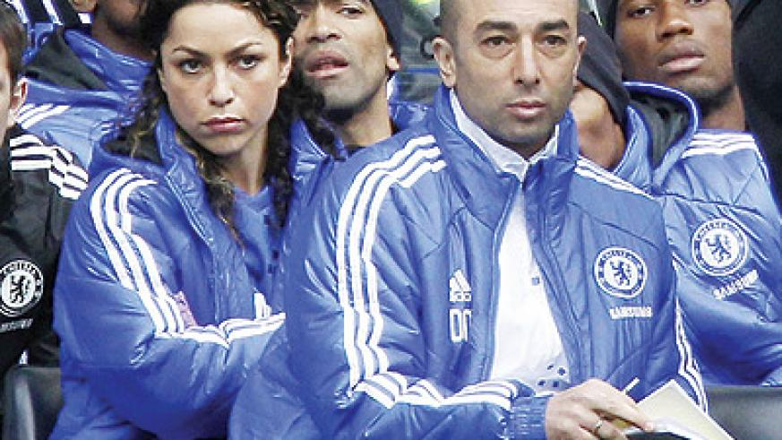 Di Matteo has been charged with save Chelsea's season. Net photo.