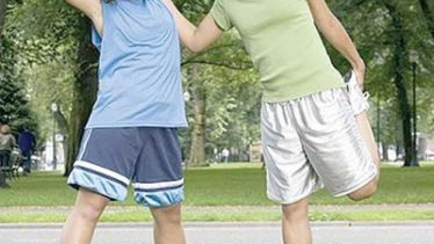 Staying fit keeps you in a good mood too. Net photo.