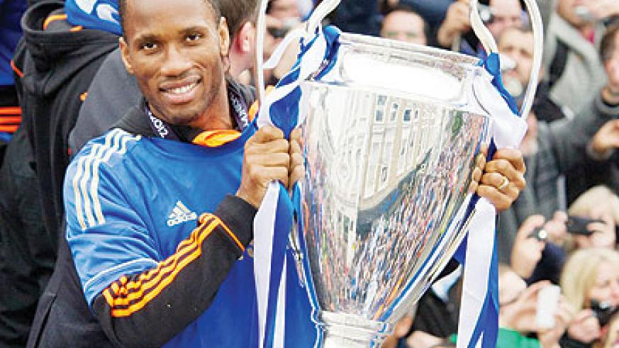 After eight years in West London, Chelsea have confirmed that talismanic striker Didier Drogba will leave the club this summer. Net photo.