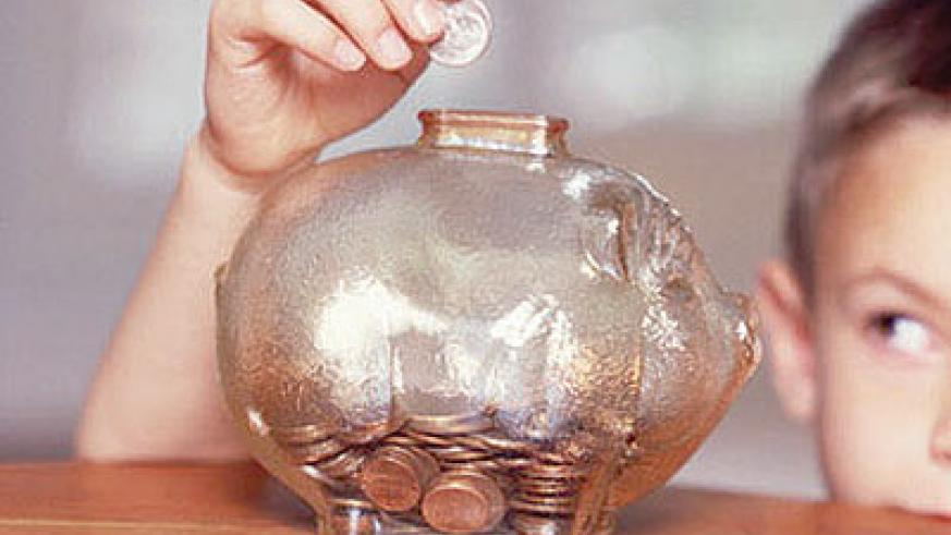 Piggy banks are used by kids to save money.  Net photo.