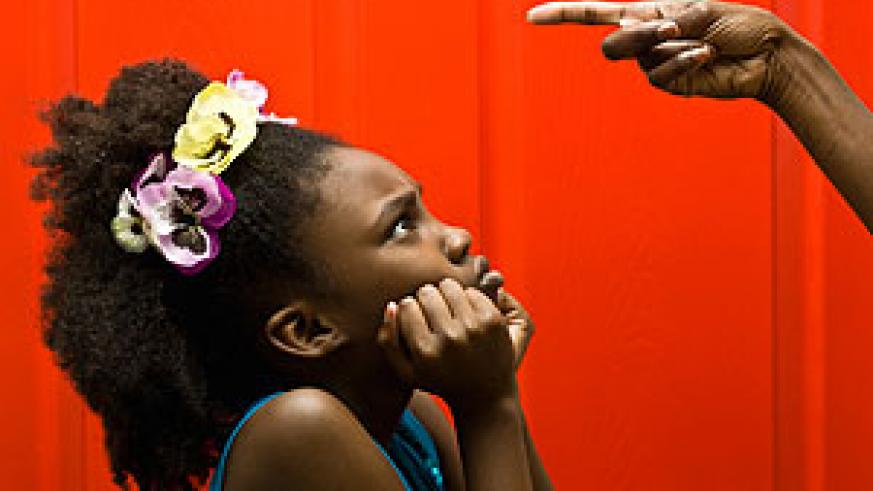A child's outburst often springs from a parent's own. Net photo.