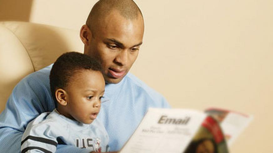 Fathers are important in the lives of their children. Net photo.