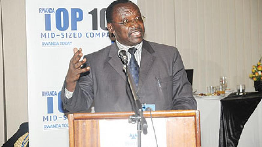 Supports competition: Minister of Trade and Industry, francois Kanimba. The  New Times / File.