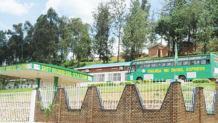 Biodiesel station in Kigali. The  New Times / File.