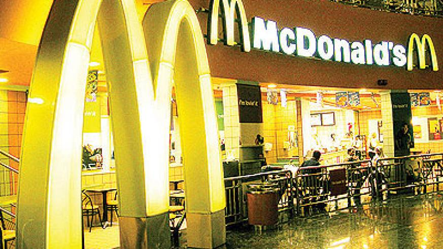 Mcdonalds is one of the very few non-tech brands in the world's top 10. Net photo.