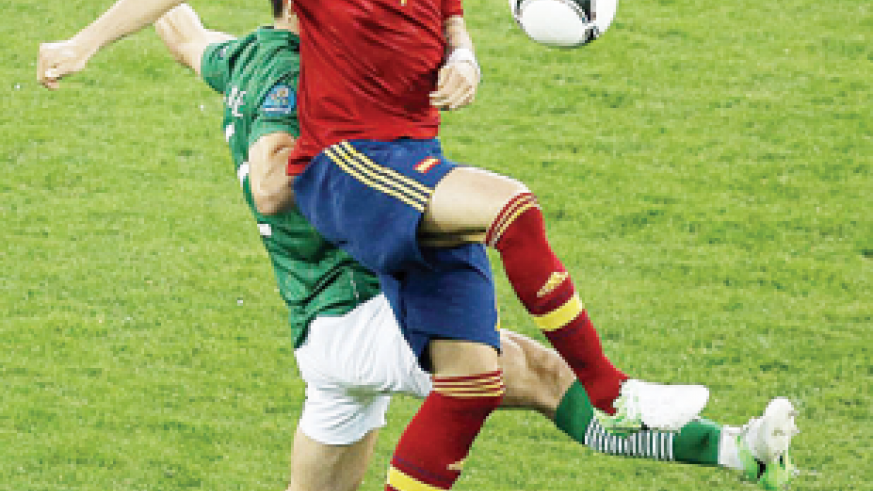 Fernando Torres scored a brace for Spain in the win against the Republic of Ireland. Net photo.