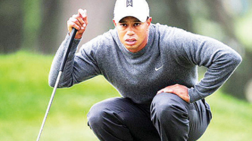 Tiger Woods, three times a US Open champion, was happy with his opening 69. Net photo.