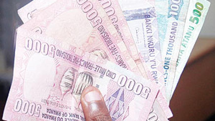 Rwandan Francs weakened by high volumes of imports. The New Times / File.