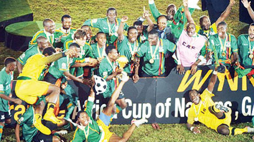 Zambia wins African Cup after penalty shootout over Ivory Coast earlier this year. Net photo.