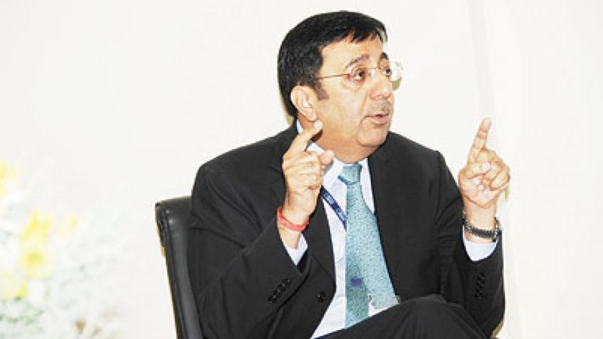 Sanjeev Anand, BCR's Managing Director. The New Times / File.