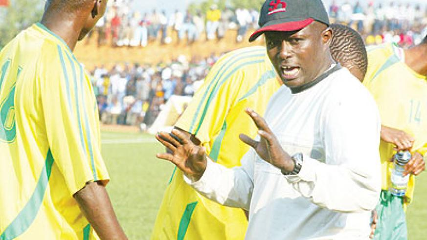 Jean Marie Ntagwabira shocked the local football fraternity with his match-fixing revelations. The New Times  / File.