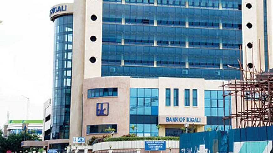 Bk is the only company in Rwanda with a credit rating. The New Times / File.
