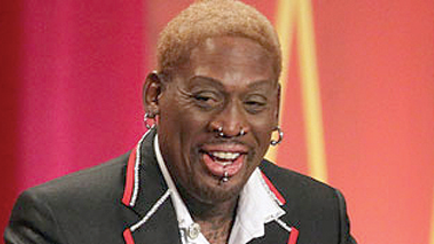 Rodman finally sees his dad after 42 years. Net photo.