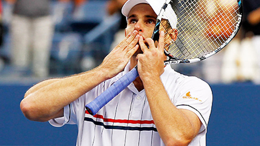 Andy Roddick, 30, played his final career match at the US Open, the site of his only major title in 2003. Net photo.