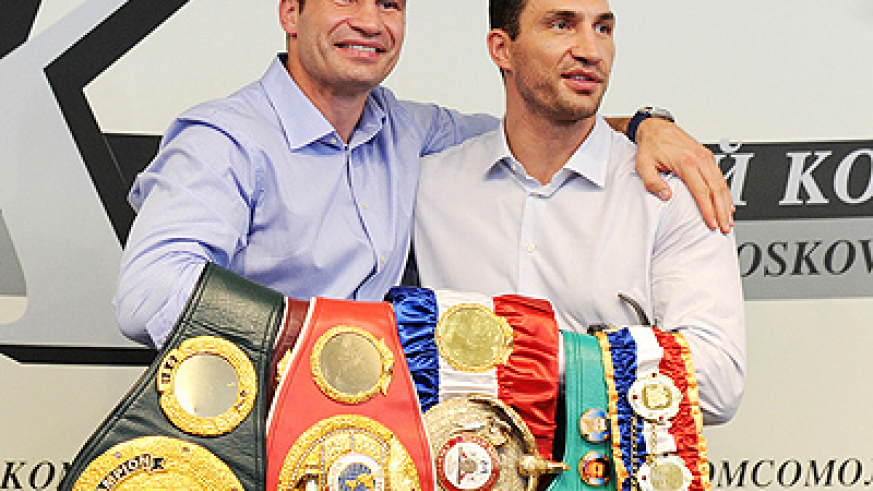 Heavyweight boxing brothers, Wladimir and Vitali Klitschko. Net photo.