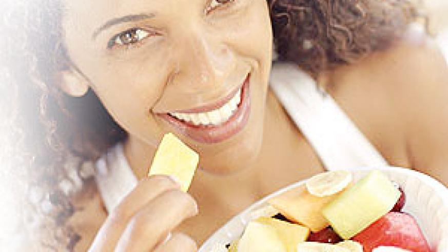 Eat fruits that don't contain citric acid. Net photo.