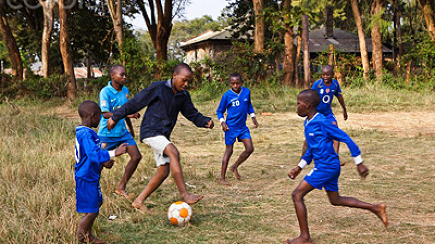 Nothing beats the thrill of playing soccer outdoors. Net photo.
