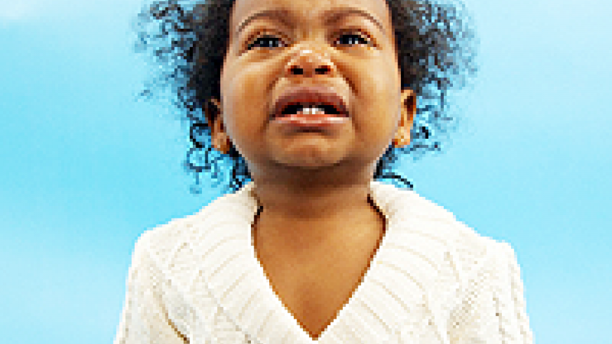 Parents have to battle with a child's frustrations and emotions. Net photo.