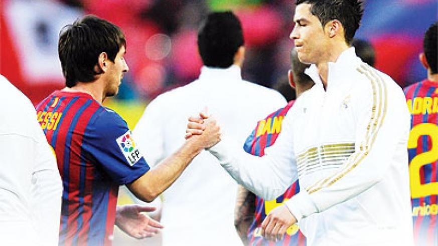 Messi vs Ronaldo at Nou Camp