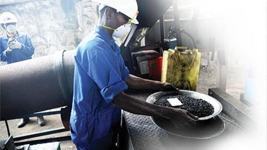 The mining industry is till dominated by artisan miners. The New Times / File.