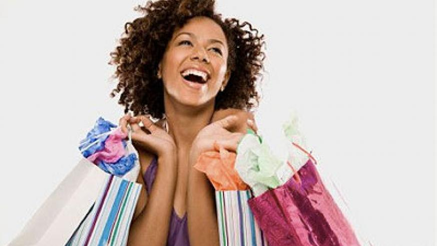Some women would give anything to shop all day. Net photo.