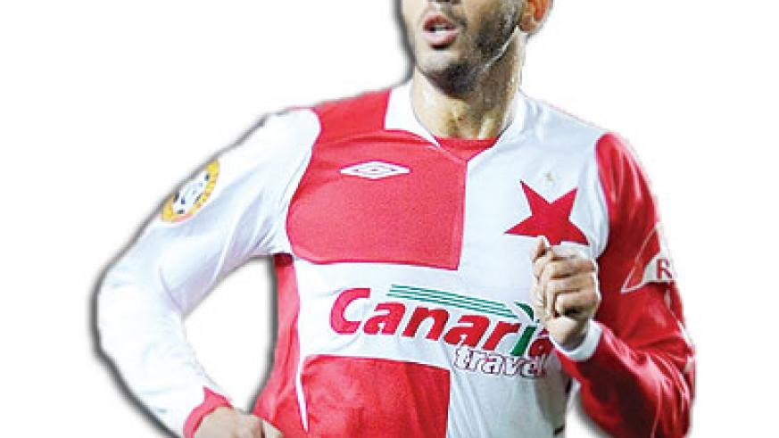 Hocine Ragued has also played in the Czech Republic, Turkey and France. Net photo.