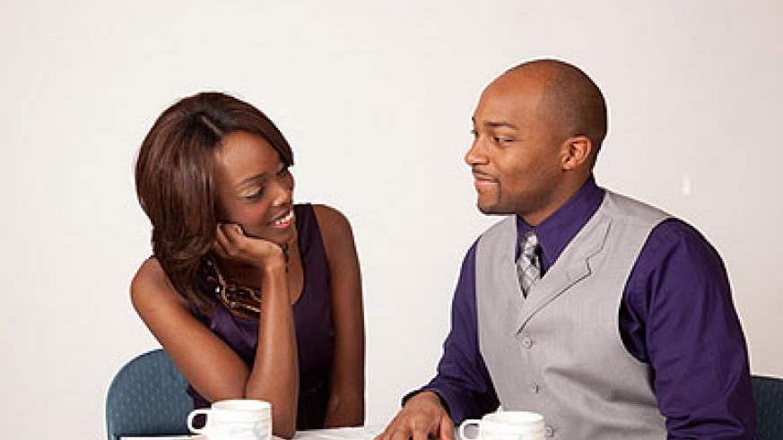 Limit your first date to casual talk. Net photo.
