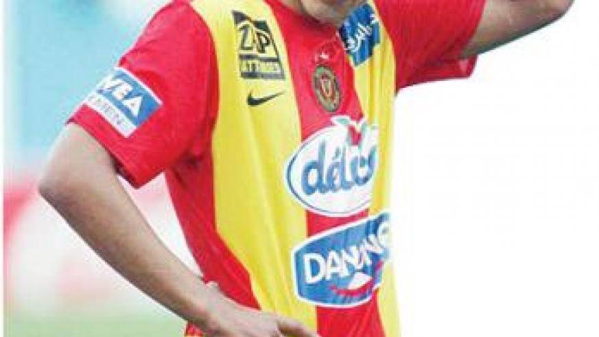 Youssef Msakni missed the first clash in Egypt after an appendicitis operation but is expected to play today. Net photo.