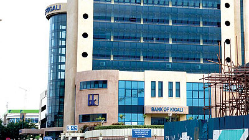 Bank of Kigali hopes to tap into the regional market The New Times / File.