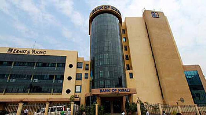 Bank of Kigali headquarters: The bank recorded a net income of Rwf 8.9 billion by September 2012.