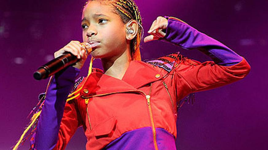Willow Camille Reign Smith  is an American child actress, singer and a student as well.  Net photo.