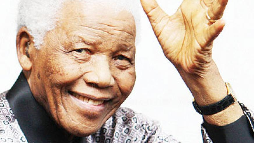 Nelson Mandela received the Nobel Peace Prize in 1993. Net Photo