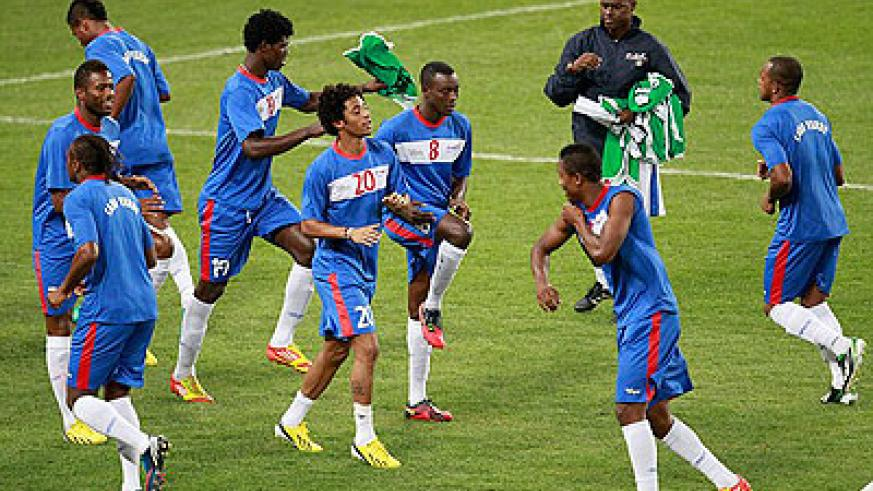 Cape Verde are making their debut at the finals. Net photo.