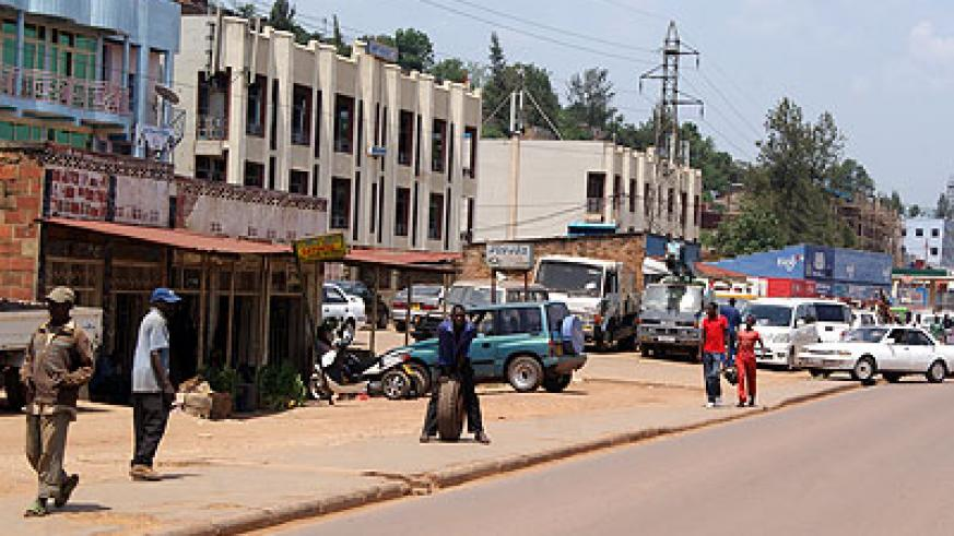 Gasata is a busy Kigali suburb. All photos /  M. Bishop.