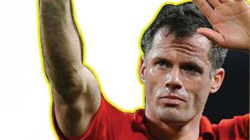 Liverpool's Jamie Carragher will hang up his boots at the end of the season. Net photo.