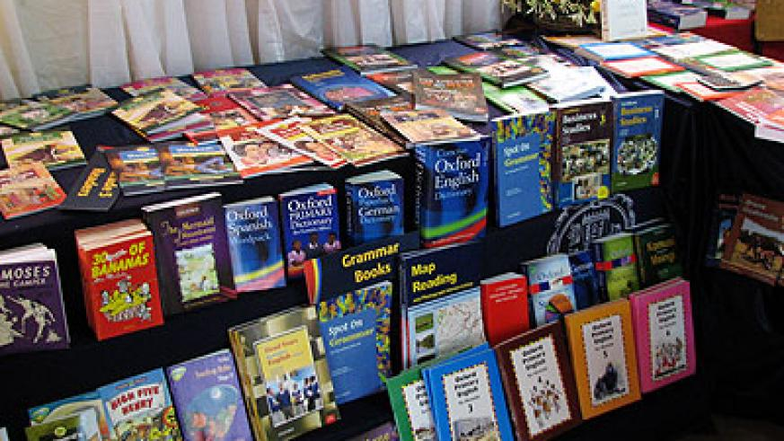 Oxford University Press books on display