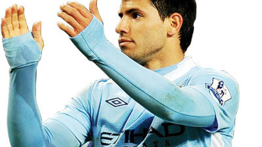 Manchester City could welcome back striker Sergio Aguero for Sunday's game. Net photo.