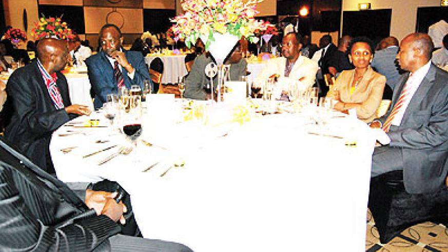 Some of the business people who attended the launch of Golden Circle group. The New Times / File.