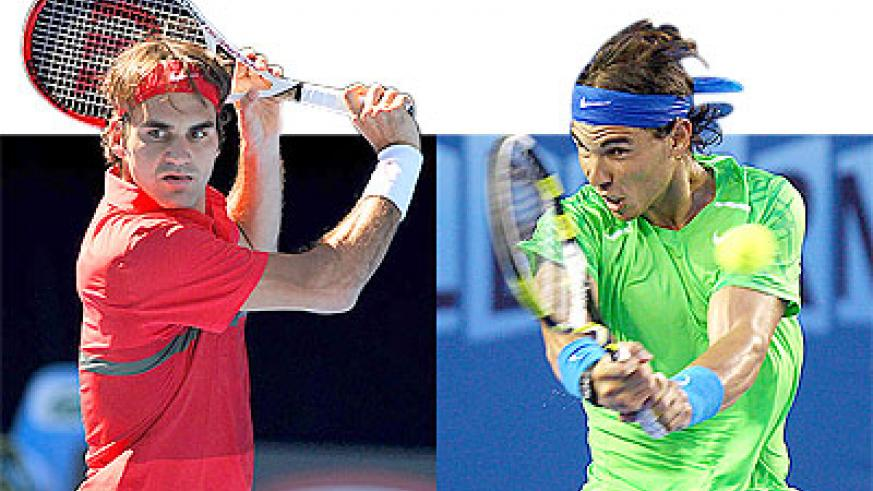 Rafael Nadal (right) and Roger Federer (left) have enjoyed a long-time rivarly. Net photo.