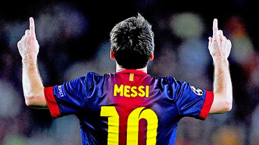 Lionel Messi can become the first player to score against every Spanish league opponent in consecutive order. Net photo.