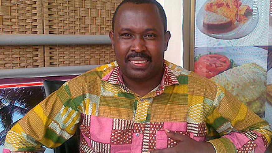 Peter Rwema, the director of research and development at the Association of Microfinance Institutions of Rwanda.  The New Times / Peterson Tumwebaze.