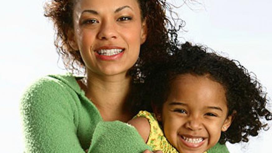 Spend time with a child to strengthen your bond. Net photo.