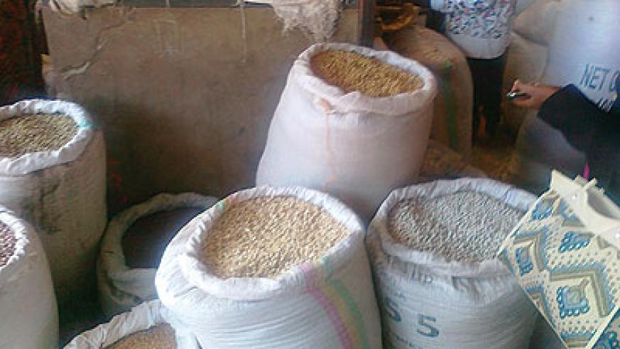 Beans and peas prices are stable. The New Times / P. Tumwebaze