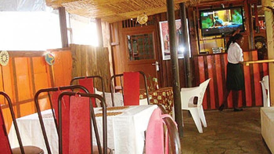 Cozy is known for three things lunch buffet, terrace bar, and the rooms. Photo The New Times/Moses Opobo
