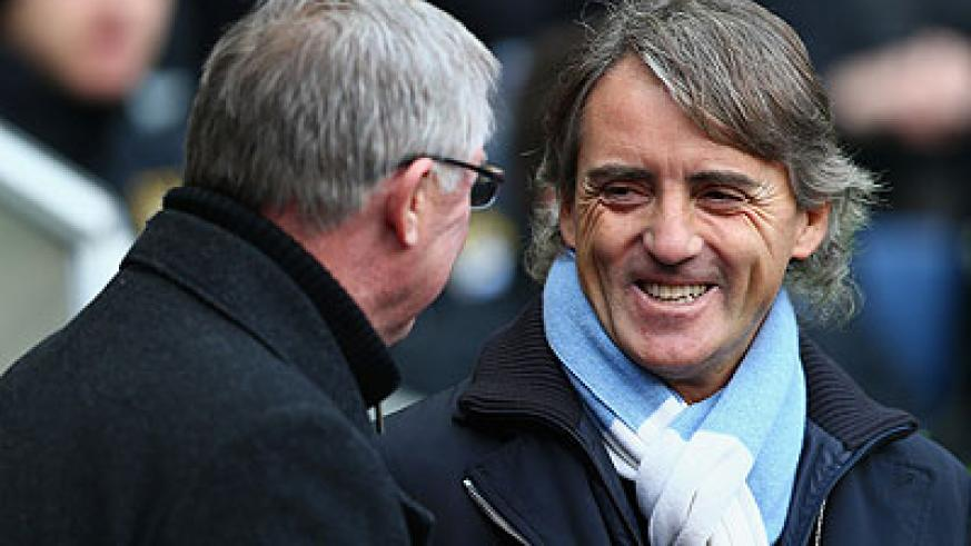 Mancini has been Ferguson's immediate rival during his three-and-a-half years as City manager. Net photo.
