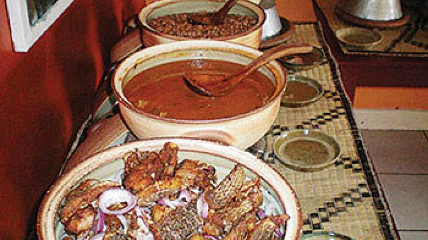 Going to Afrika Bite can actually feel like visiting a friend's home for lunch or dinner. All pictures Sunday Times/Moses Opobo